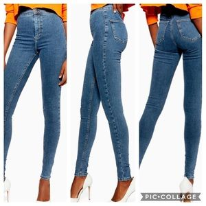 TopShop Moto Joni Super High Waisted Skinny Jeans